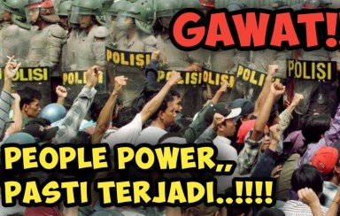 Jokowi vs People Power