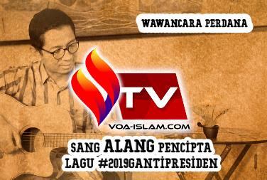 Video Hot Interview (1): Sang Alang Pencipta Lagu #2019 Ganti Presiden yang Fenomenal